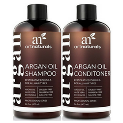 14. Best For Dry Hair Art Naturals Organic Moroccan Argan Oil Shampoo