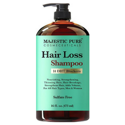 17. Best For Hair Loss Hair Loss and Hair Regrowth Shampoo for Men & Women From Majestic Pure
